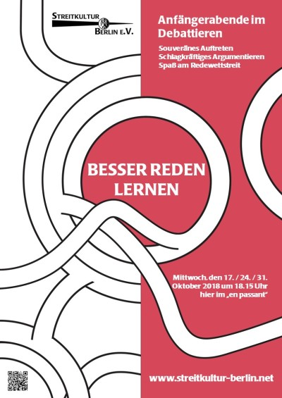 Poster Anfängerabende 2018 - Herbst
